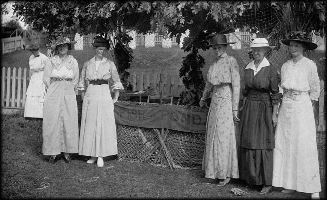 Ladies Village Improvement Society,, archival photo.