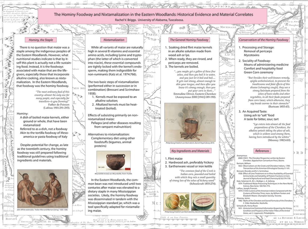 The poster I presented at the 2014 Society for American Archaeology conference, Austin, Texas.