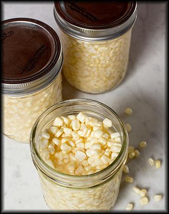 Sour sweet corn, from Garden & Gun.